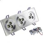 Lampa LED 9x1W 93x255SL