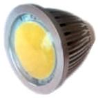 Reflektor LED COB 5W 120° GU10